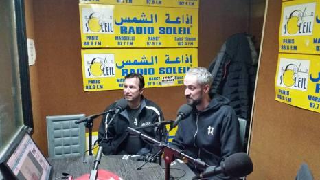 PARTHENON & KOLO à Radio Sunce