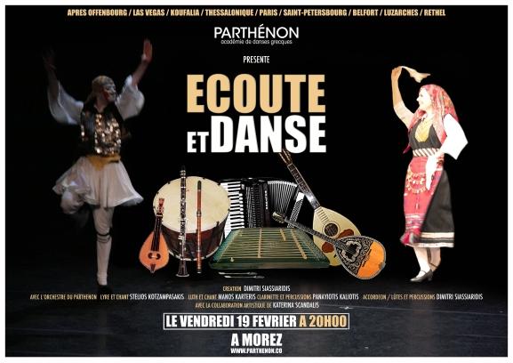 Ecoute et Danse à Morez PARTHENON